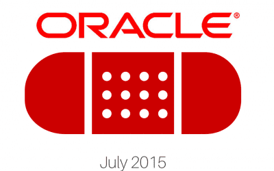Oracle Patch Update July 2015