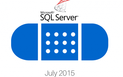 SQL Server Patch Update: July 2015