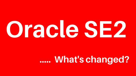 Oracle Standard Edition 2 Infographic