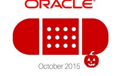 Oracle Patch Update October 2015