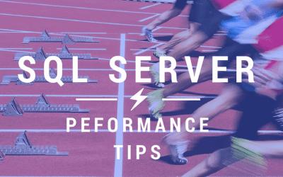 Lightning Bolt performance from your SQL Server