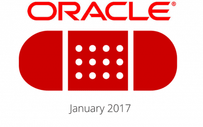 Oracle Patch Update Jan 17
