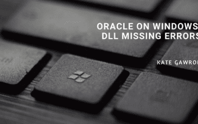 Oracle on Windows: DLL missing errors