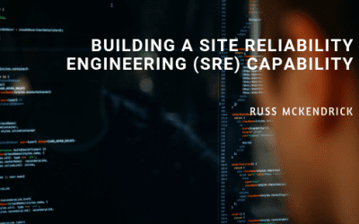 Building a Site Reliability Engineering (SRE) Capability