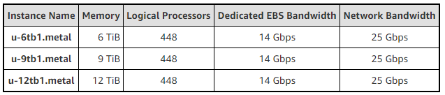 EC2 High Memory Instances
