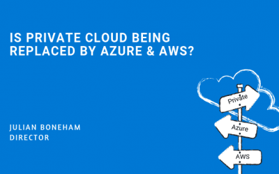Is Private Cloud Being Replaced By Azure & AWS?