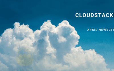 CloudStack[d] April Newsletter