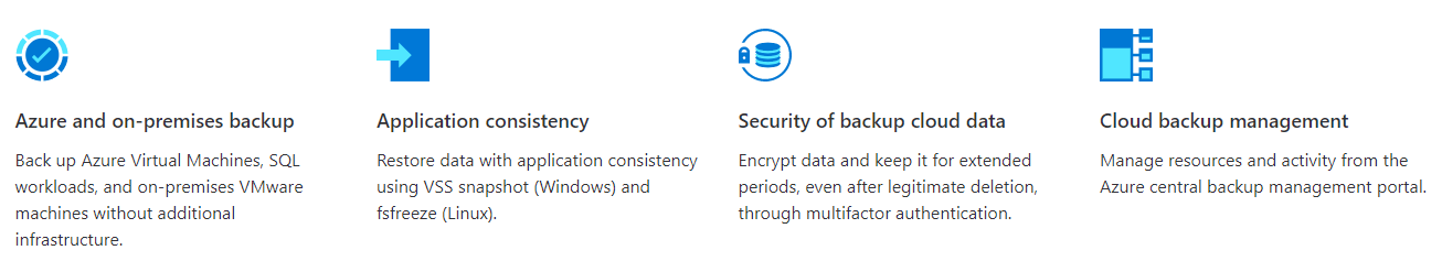 Azure Backup benefits