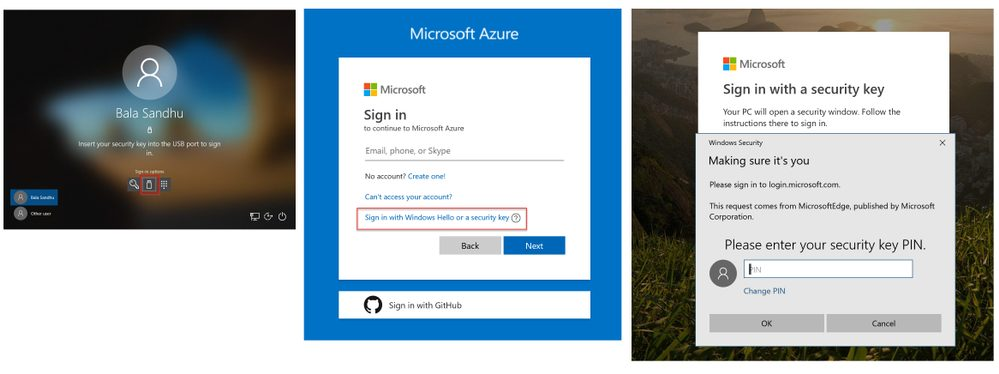 Azure FIDO2 Security Keys
