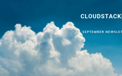 CloudStack[d] September 2019 Newsletter