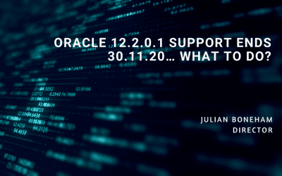 Oracle 12.2.0.1 Support Ends 30.11.20… What to do?