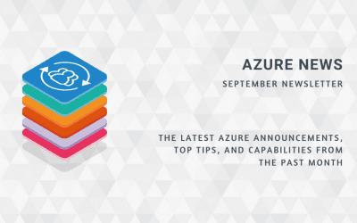 Azure News September 2020