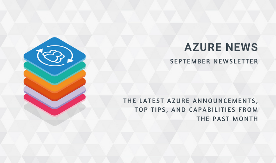 Azure News September 2020
